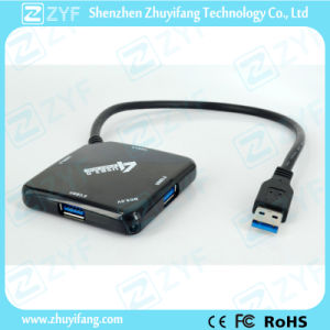 Fish Design 4 Port USB 3.0 Hub (ZYF4118)