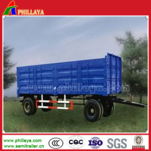 Truck Trailer Cargo Body Hydraulic Tipper Full Trailer pictures & photos
