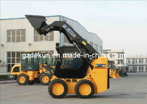 CE Certificated Mini Front End Wheel Loader Skid Steer Loader Xt740