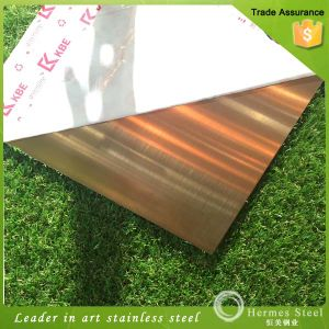 Building Materials Black Hairline Finish Stainless Steel Sheets for Decor Wall Paneling pictures & photos