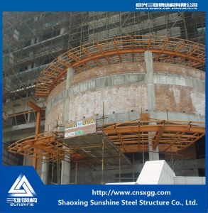 Steel Structure Made of Truss Building Material for Decoration Engineering pictures & photos
