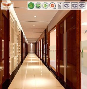 Rigid Vinyl Sheet Corridor Half Wall for Office Building&Office Plaza pictures & photos