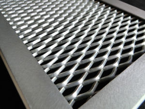 Decorative Aluminum Expanded Metal Mesh Panels pictures & photos