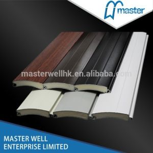 Aluminum Alloy Roller Shutter Profile with PU Foamed Inside pictures & photos