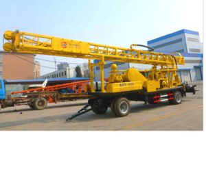 High Quality Trailer Mounted Water Well Drilling Rig pictures & photos