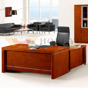 Best Ergonomic Corner Contemporary High-End L Shaped Office Desk Furniture (HY-D0118) pictures & photos
