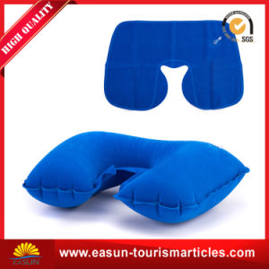 Custom Travel Air Inflatable Pillow pictures & photos