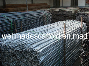 Construction Vertical Frame Scaffolding Pre-Galvanized Cross Brace pictures & photos