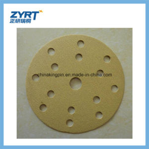 Q12 Golden Hook and Loop Backing Abrasive Discs pictures & photos