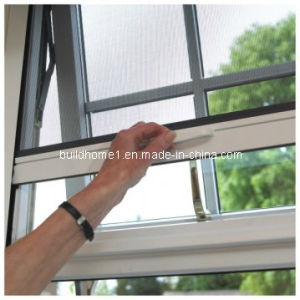 DIY Residential Grade Fireproof Rolling Window Insect Screen pictures & photos
