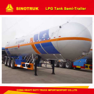 Africa Widely Used LPG Tanker Trucks Trailer/Tank Semi-Trailer pictures & photos