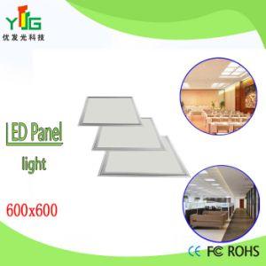 CE RoHS FCC UL SAA Approved 36W 40W 48W LED Panel Light 600X600mm