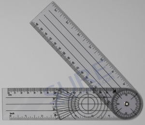 Various Plastic Promotional Medical Goniometers Ruler with Good Quality pictures & photos
