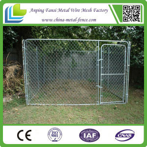 Wholesale Large Chain Link Fence Dog Cage pictures & photos