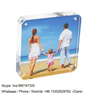 Magnetic Acrylic Photo Frames for Home Decoration pictures & photos