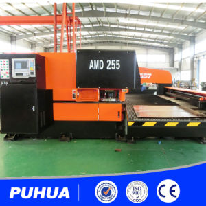Ce Quality AMD-255 CNC Turret Sheet Metal Punching Machine pictures & photos