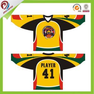 Team Wear Sublimation Camo Hockey Jerseys China, Custom Unique Hockey Jersey pictures & photos