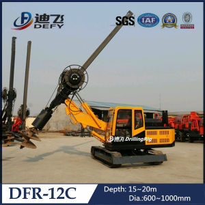 15m Depth Dfr-12c Hydraulic Pile Driver pictures & photos