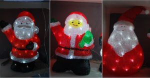 Acrylic Christmas Decoration Light with LED pictures & photos