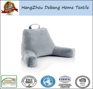 Super Soft Plush Wedge Body Support Reading Pillow pictures & photos