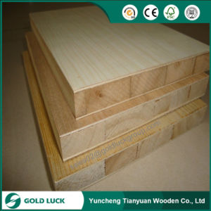 Good Quality Falcata Core Melamine Faced Blockboard pictures & photos