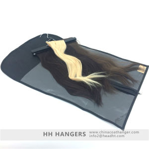 Extension Hair and Clips in Hair Hanging Hanger Wooden Clamps pictures & photos