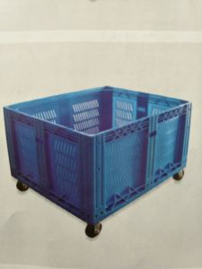 Plastic Storage Bins Moving Plastic Crates for Fruits and Vegetables pictures & photos