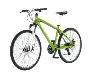 """26"""" 21sp Green Hot Sale New Fashion Aluminum Mountain Bike pictures & photos"""
