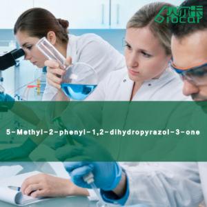High Purity 5-Methyl-2-Phenyl-1, 2-Dihydropyrazol-3-One (CAS: 89-25-8)