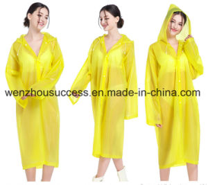 Breathable Raincoat/Waterproof Rainsuit Plastic Rain Poncho pictures & photos