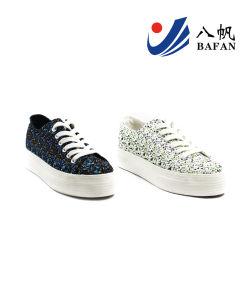 Hot Sales Women′s Canvas Shoes (BFM0323) pictures & photos