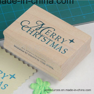 America Maple Stamp-Christmas Series Stamp-Gift Stamp-Wooden Stamp pictures & photos