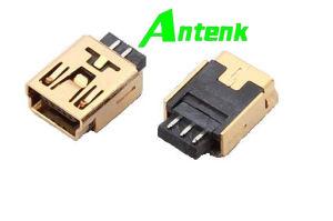 Mini USB Connectors 5p Receptacle Solder B Type pictures & photos