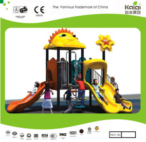 Kaiqi Small Cartoon Series Slide Set for Children′s Playground (KQ20036A) pictures & photos