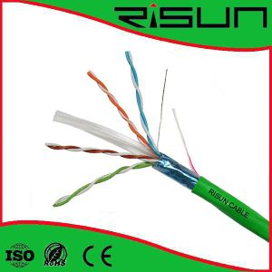 China Hot Selling Ethernet Cable/ Network Cable FTP CAT6 Cable pictures & photos