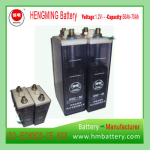 Hengming Pocket Type Kpm Series Nickel Cadmium Battery/Ni-CD Battery pictures & photos