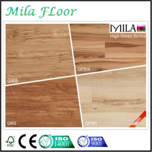 New Design 8mm High Glossy Laminate Flooring