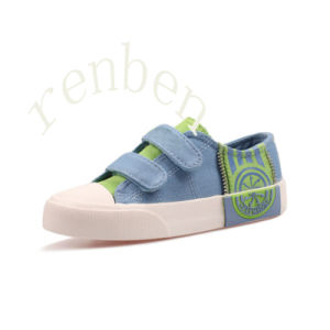 Hot Sale Children′s Casual Canvas Shoes pictures & photos