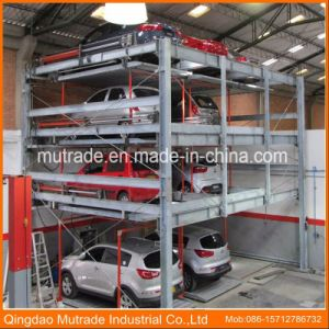 Automatic Automated Puzzle Lift Car Parking System Price Low Mechanical Garage pictures & photos