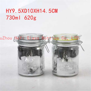 Food Seal Jar Glass Container Glass Jar