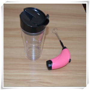 Gun Shape with Cup Coffee Frother for Milk (VK14026-C) pictures & photos