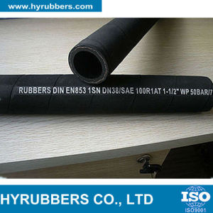 High Pressure Rubber Oil Hose with Fabric Surface pictures & photos