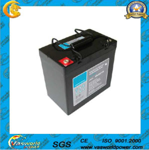 UL Approved 12V 50ah Solar Battery pictures & photos