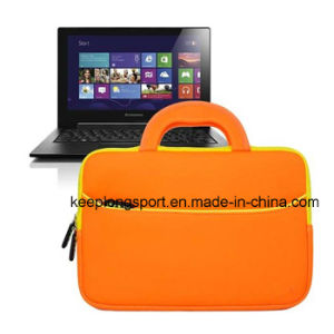 Fashionable and Custom Neoprene Tablet PC Bag with The Handle pictures & photos