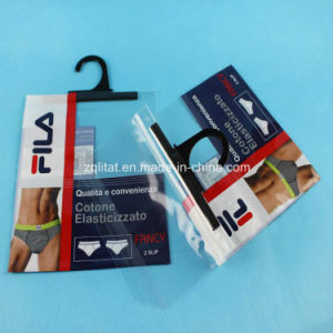 Zipper Plastic Garment Packaging Bag for Underwear pictures & photos