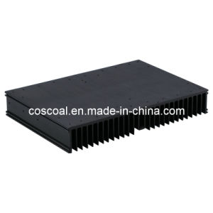 Hard Anodizing Heatsink (Anodized film 25-125 micron) pictures & photos