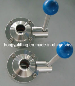 Sanitary Butterfly Valve with Welding End (HYB05)