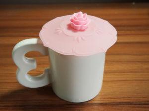 DIY Silicone Airtight Cup Cover Silicone Coffee Mug Lid Cup Cap