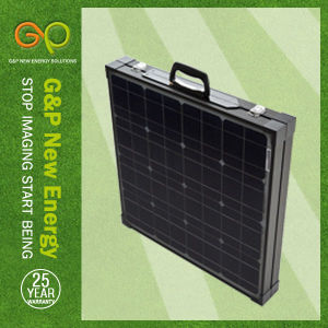G&P Folding Solar Panel Mono Crystaline Silicongpm-2f-80W) pictures & photos