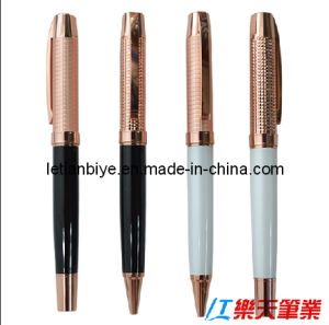 Rose Gold Color Copper Metal Pen (LT-C490) pictures & photos